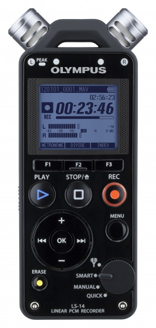 Olympus LS-14 PCM Live Performance Recorder-230