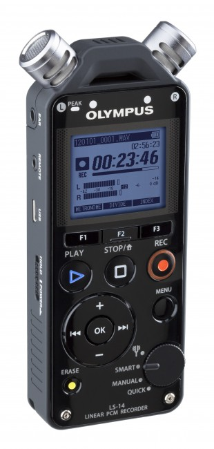 Olympus LS-14 PCM Live Performance Recorder-231
