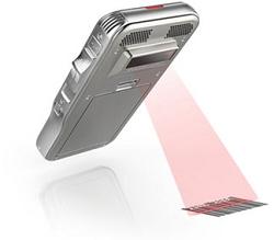 Philips Digital Pocket Memo barcode scanner