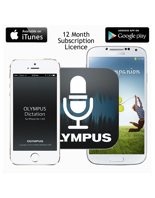OLYMPUS ODDS Dictation App License