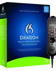 Dragon Medical Practice Edition 2.25 with PowerMic II -55