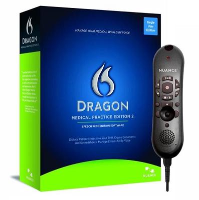 Dragon Medical Practice Edition 2.25 with PowerMic II -55