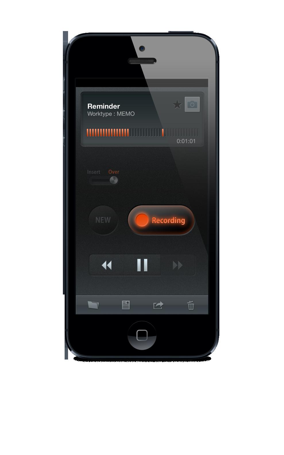 OLYMPUS ODDS Dictation App License-268
