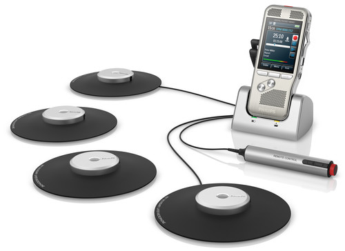 philips conference recording system