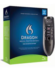 Dragon Medical Practice Edition 2 with PowerMic III