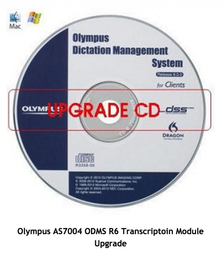 Olympus AS7004 ODMS R6 Transcriptoin Module Upgrade-394