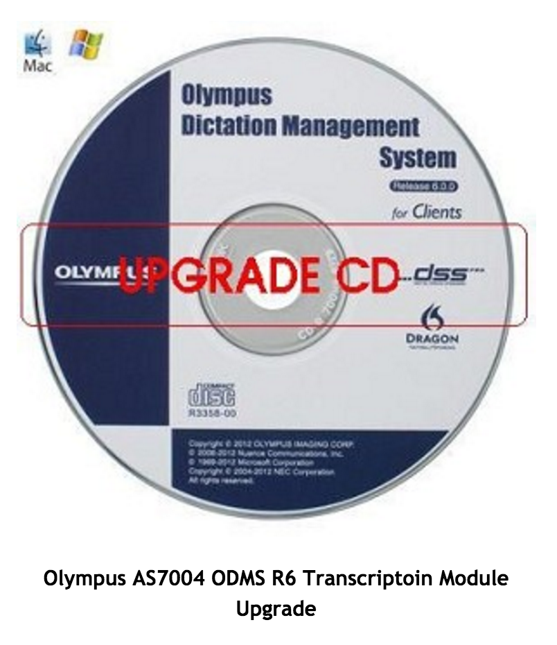 Olympus AS7004 ODMS R6 Transcriptoin Module Upgrade-394