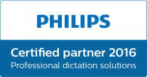 Phillips Professioinal dictation tools logo