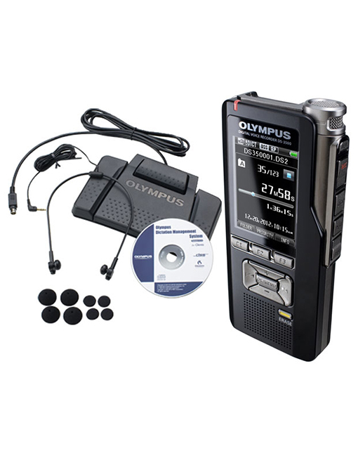 Olympus DS-3500DT Digital Dictation & Transcription Starter Kit