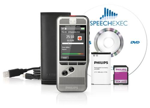 Philips DPM-6000 Digital Pocket Memo DPM6000/00-0