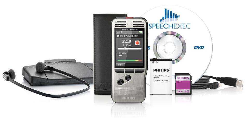 Philips DPM-6700 Digital Dictation & Transcription Starter Kit DPM6700/00-0