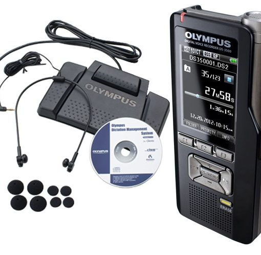 Olympus DS-3500DT Digital Dictation & Transcription Starter Kit-370