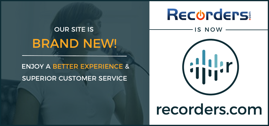 new recorders.com brand and logo
