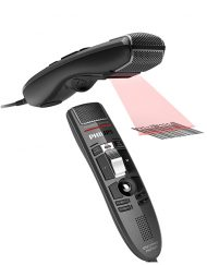 Philips LFH3610 SpeechMike Premium with Barcode Scanner and Slide Switch