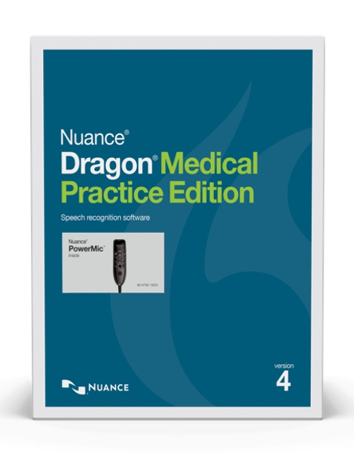 Dragon Medical Practice Edition 4 with Powermic III