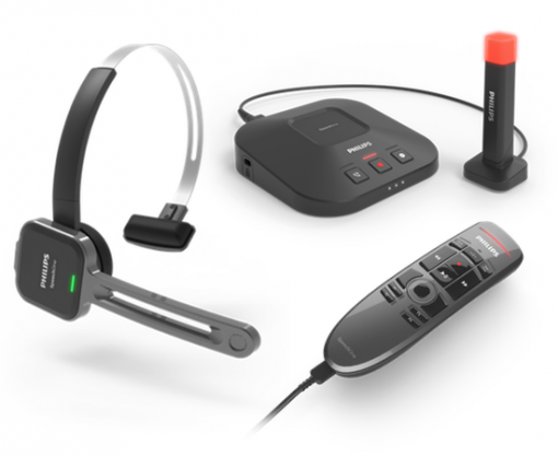 Philips PSM6300 SpeechOne Headset with Docking Station and Remote