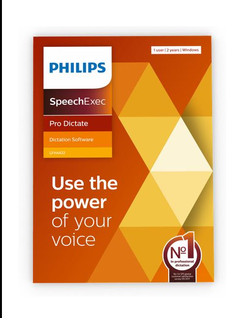 SpeechExec Pro 11 Dictate LFH4422